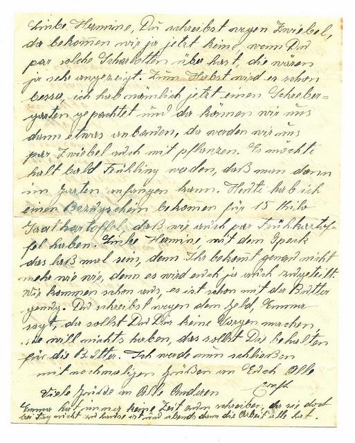 Dear Hermine Old German Letter, via Flickr.