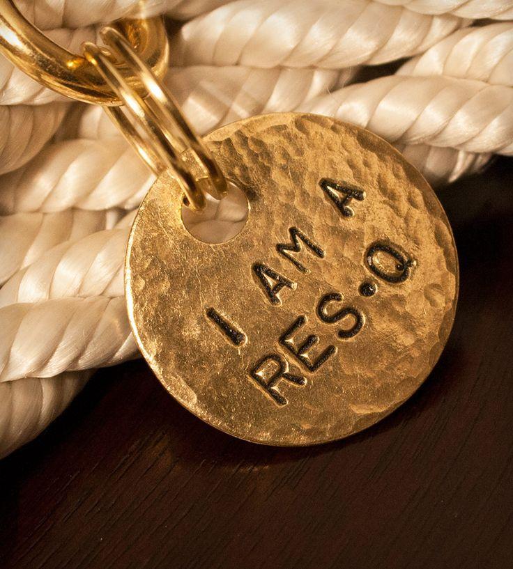 I Am a ResQ Pet Tag