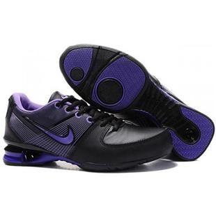 Ropa De Cama De Color Púrpura Para Mujer Nike Shox Aire Actuales Zapatos Negro