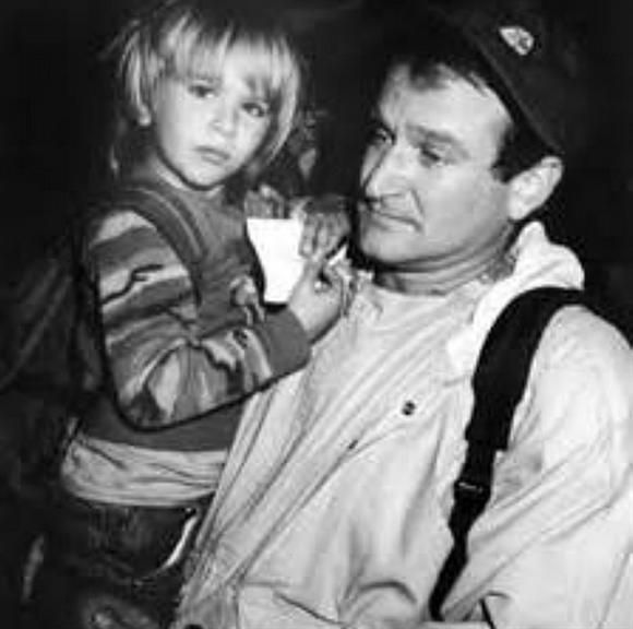 """""""You're a grown man now and I'm so proud of you. A little bit of you will always be my """"Mr Pym"""". Happy Birthday, @zakpym!"""" --Robin Williams, who posted this photo of his son, Zachary, on Instagram on April 11, 2014RELATED: See Robin's life in pictures"""