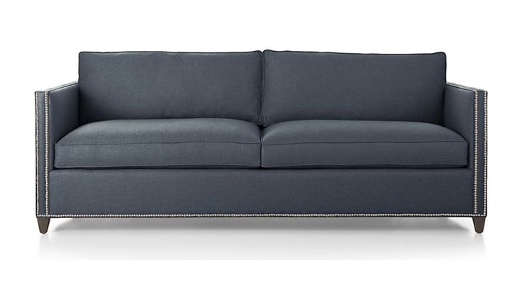 Dryden Queen Sleeper Sofa with Nailheads | Crate and Barrel