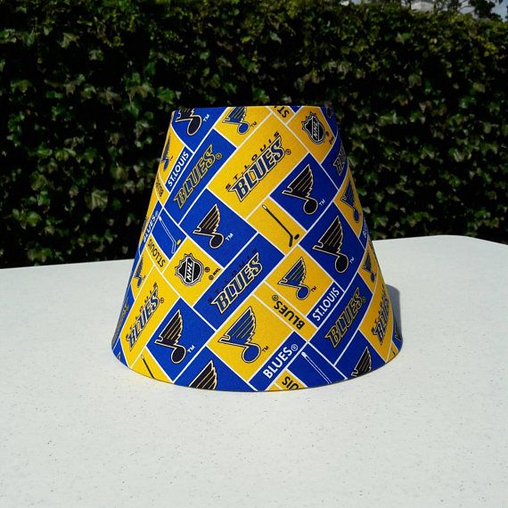 Check out this item in my Etsy shop https://www.etsy.com/listing/551856089/st-louis-blues-nhl-lamp-shade