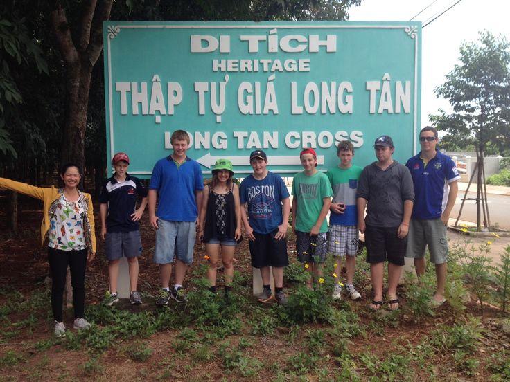 Australian history - first hand. #VietnamSchoolTours #LongTan