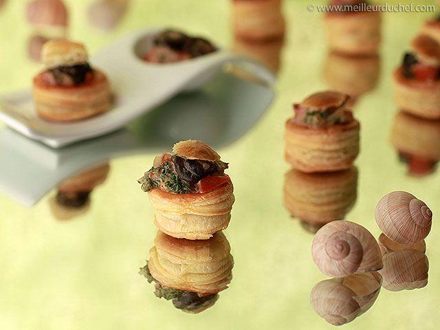 Feuilleté d'escargots aux cèpes - Meilleur du Chef