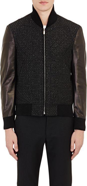 Thom Browne Varsity Jacket-Black