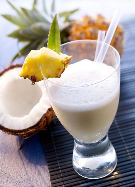 Mineralwasser-Cocktail: Palmenkuss Rezept - [ESSEN UND TRINKEN]
