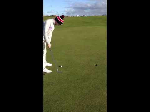 Crazy Putt 9th Hole Elie -You Gotta be kidding me ! - YouTube