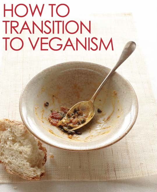 How to transition to veganism