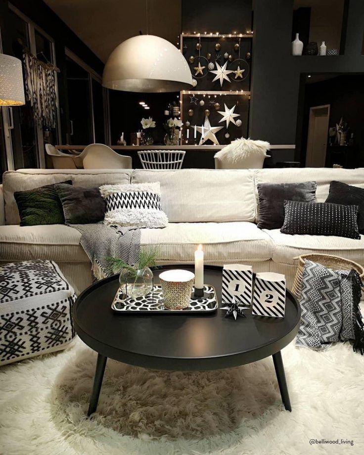 55 intérieurs cocooning repérés sur Pinterest en 2020   Déco salon cosy, Table salle à manger ...