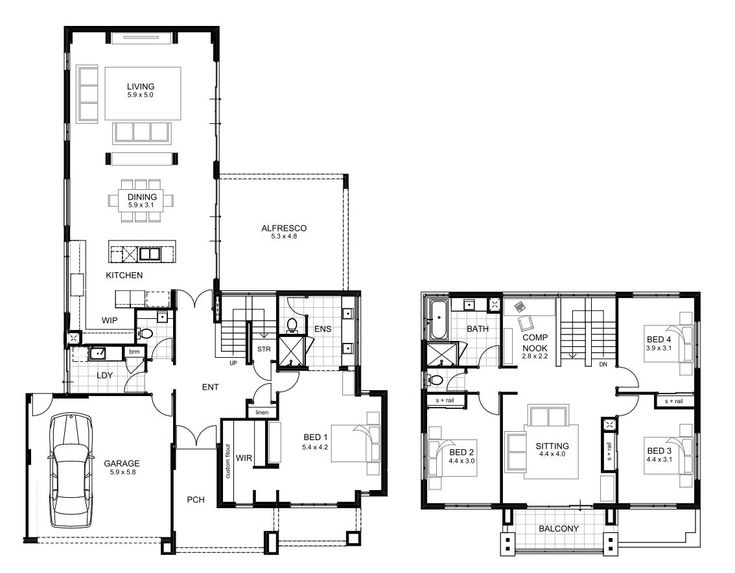 Home Designs Perth | apg Homes | 4 bedroom house designs ...