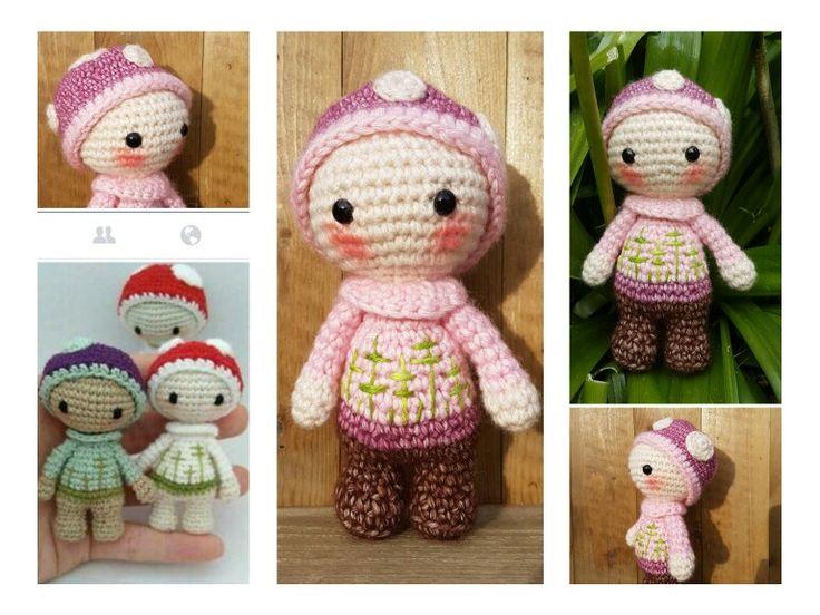 Free mini amigurumi : Miniature thread totoro free crochet pattern amigurumi to go