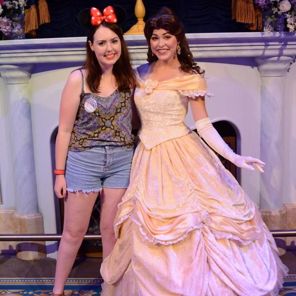 Where to meet the disney princesses at walt disney world enchanted tales with belle meet and greet m4hsunfo