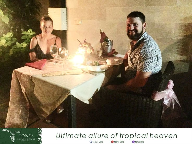 Be Romantic on your Holiday. Nice to serve you a wonderful Romantic Dinner Mr. Aaron and Mrs. Rebecca. Hope you are happily ever after in your honeymoon. . . #bali #seminyak #tonysvilla #romantic #romanticdinner #wonderful #special #honeymoon #holiday #surprise