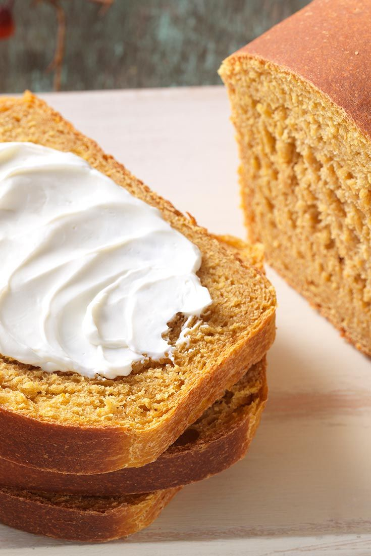 Whole Grain Pumpkin Yeast Bread Recipe