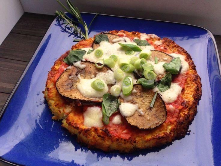 Zucchini pizza ohne kase