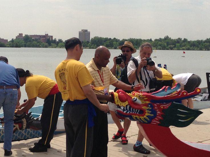 Dragon Boat Festival Eye Dotting Ceremony - 7/27/13