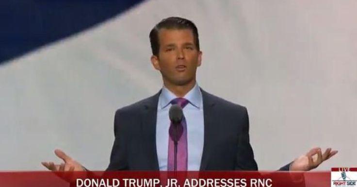 Full Video: Donald Trump Jr Speech at Republican National Convention: RNC 2016 Cleveland