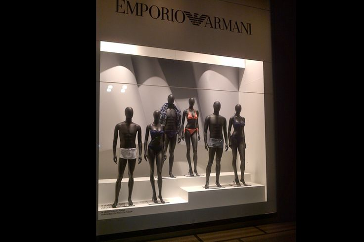Vetrina Emporio Armani underwear 2014