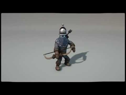 MOBA Creep Animations - YouTube