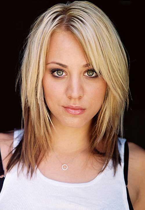 Latest Trend Blonde Ombre Colored Short Hair Kaley Cuoco Pinterest Styleedium Cuts