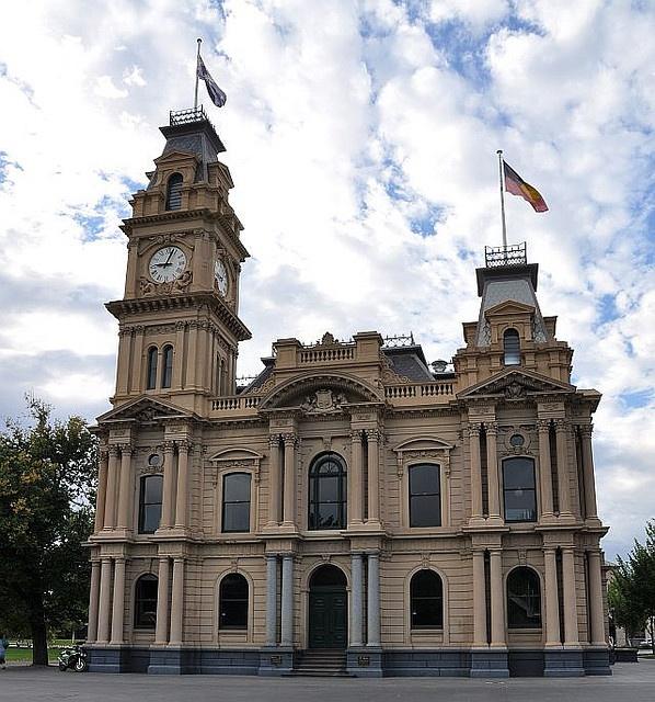 Bendigo Town Hall, Victoria, Australia