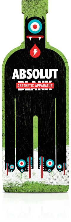 Absolute Vodka by Aesthetic Apparatus