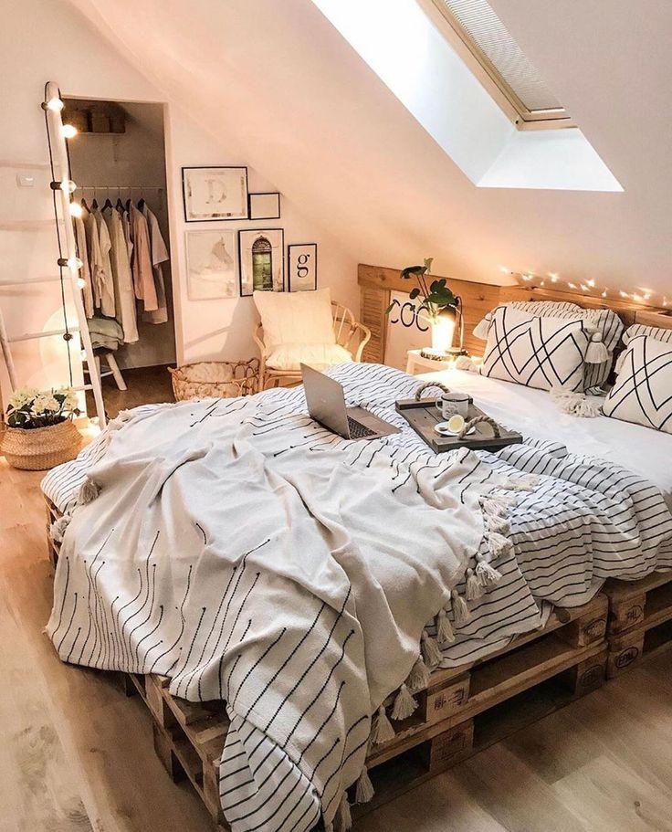 Idéias de estilo boêmio para decoração de quarto   – Zimmer deko ideen
