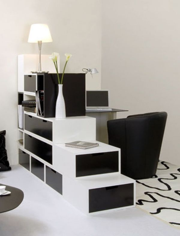 small home office decor idea black and white house decorating ideas - Decorating Ideas For Small Home Office