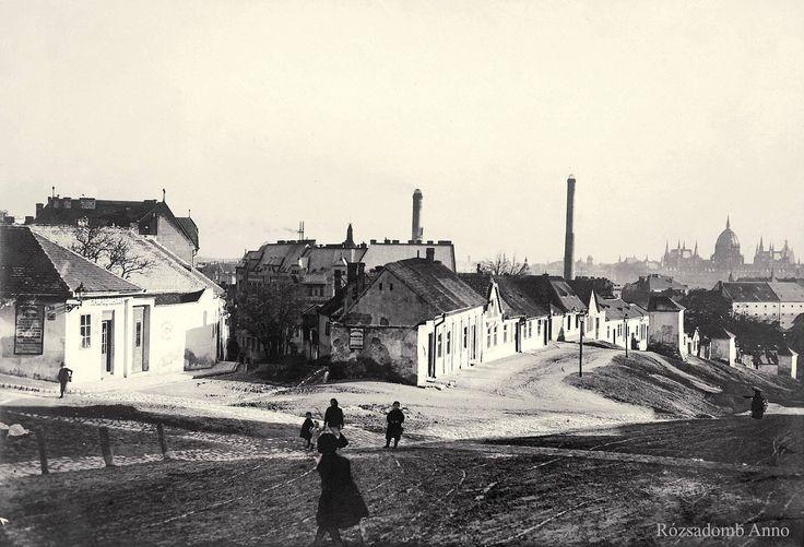 1910 körül. Rómer Flóris (Zárda) utca.