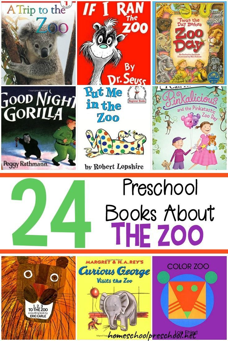 Let's go to the zoo! If you can't head to the zoo, read about it! Grab one of these preschool books about the zoo, and snuggle up with your little monkey. #preschool #homeschooling #picturebooks #booksaboutthezoo    https://homeschoolpreschool.net/preschool-books-about-the-zoo/