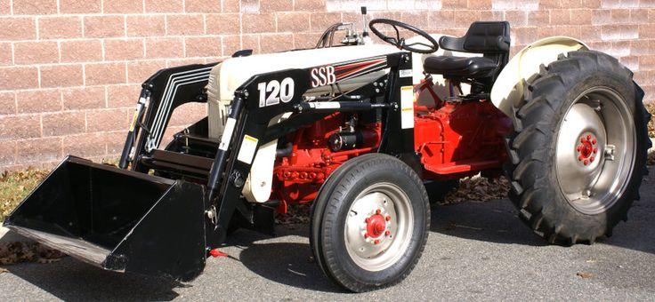 Ecdc E F Adb Da C Ford Tractors