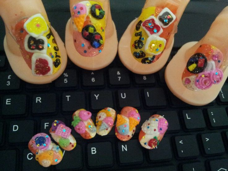 Candy nailart