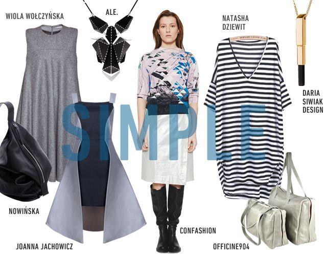 SIMPLE www.hushwarsaw.com #hushwarsaw #simple #trends #polish #fashion #nowinska #wiolawolczynska #joannajachowicz #ale #confashion #natashadziewit #dariasiwiakdesign #officine904