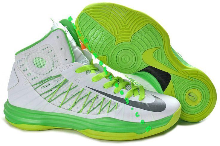 huge discount d251b 356b9 ... Nike Hyperdunk Summit White Wolf Grey Electric Green Liquid Lime 535359  100 Basketball Pinterest Nike Lunar Hyperdunk 2012 ...