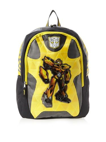 FAB Starpoint Boys 8-20 Transformers Bumble Bee 16 Inch Backpack, Multi, One Size
