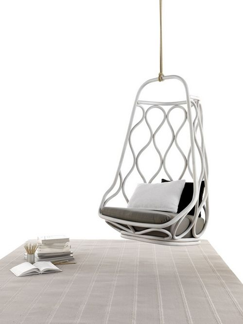best 25 indoor hanging chairs ideas on pinterest. Black Bedroom Furniture Sets. Home Design Ideas