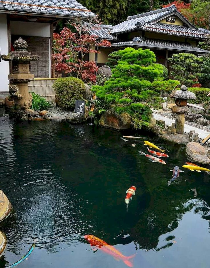 75 Gorgeous Backyard Ponds and Water Garden Landscaping Ideas – Ko Ci