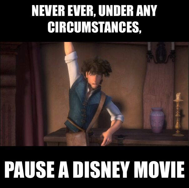 Never pause a Disney movie. Cause you can make handsome gorgeous Disney characters look like well, a (Still hot) mess. @kailande9557 I never noticed that! OMG!