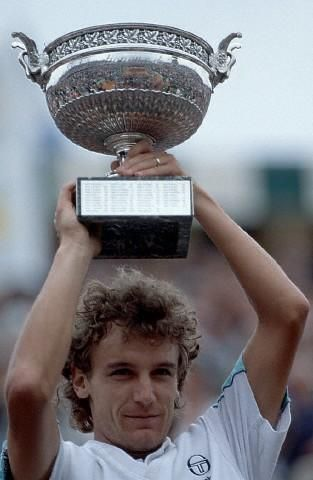 Mats Wilander, Roland-Garros 1988, I actually saw him in the Swedish Open in the 80's