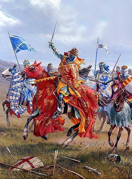 Robert the Bruce secured Scottish independence from England militarily — if not diplomatically — at the Battle of Bannockburn in 1314. An English army led by Edward II in person trying to relieve the siege of Stirling Castle was decisively defeated in an atypical set-piece battle.