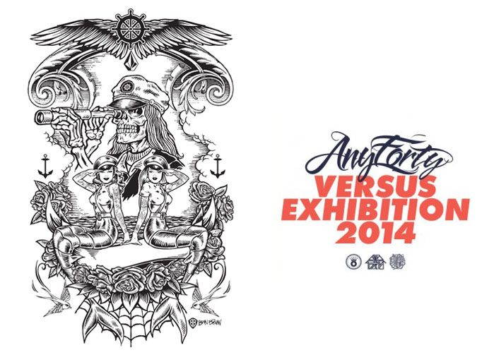 Ben Brown teams up with AnyForty #thedrawingarm