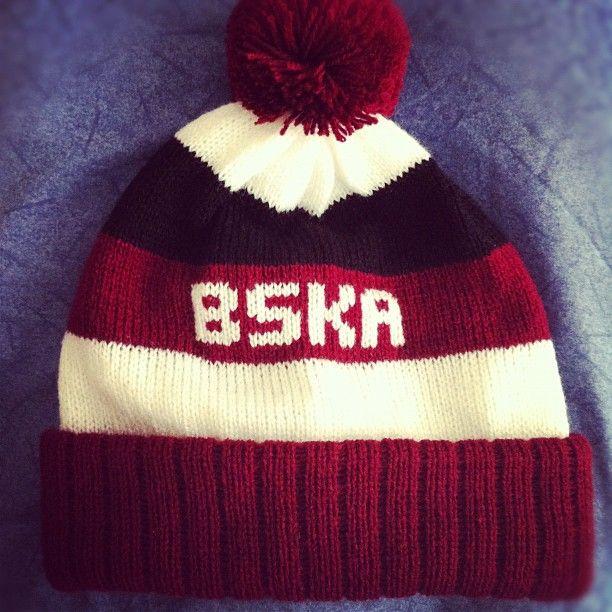 BSKA beanie bobble hat