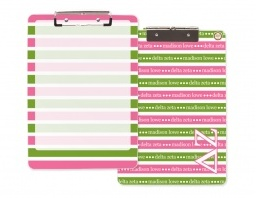 Hey Delta Zetas! The pink/green combo in our letters is absolutely adorable. Check out Erin Condren's brand new line of licensed Delta Zeta products!! Enjoy!! <3