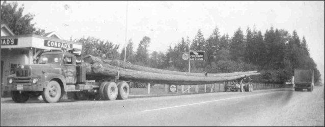 log truck history | Old Log Truck