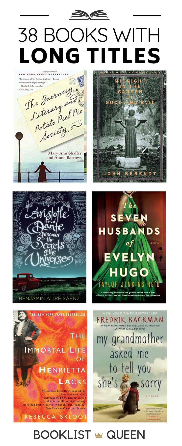 The Long List Of Books With Long Titles Best Book Club Books Book Club Books Book Blogger