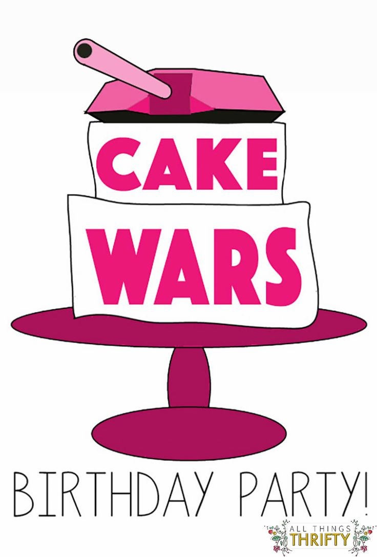Cake Wars Birthday Party