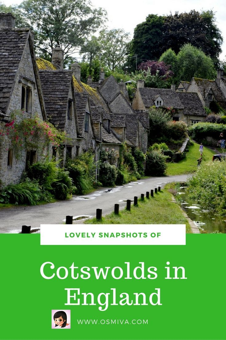 Travel Photography Inspiration of the Cotswolds in England