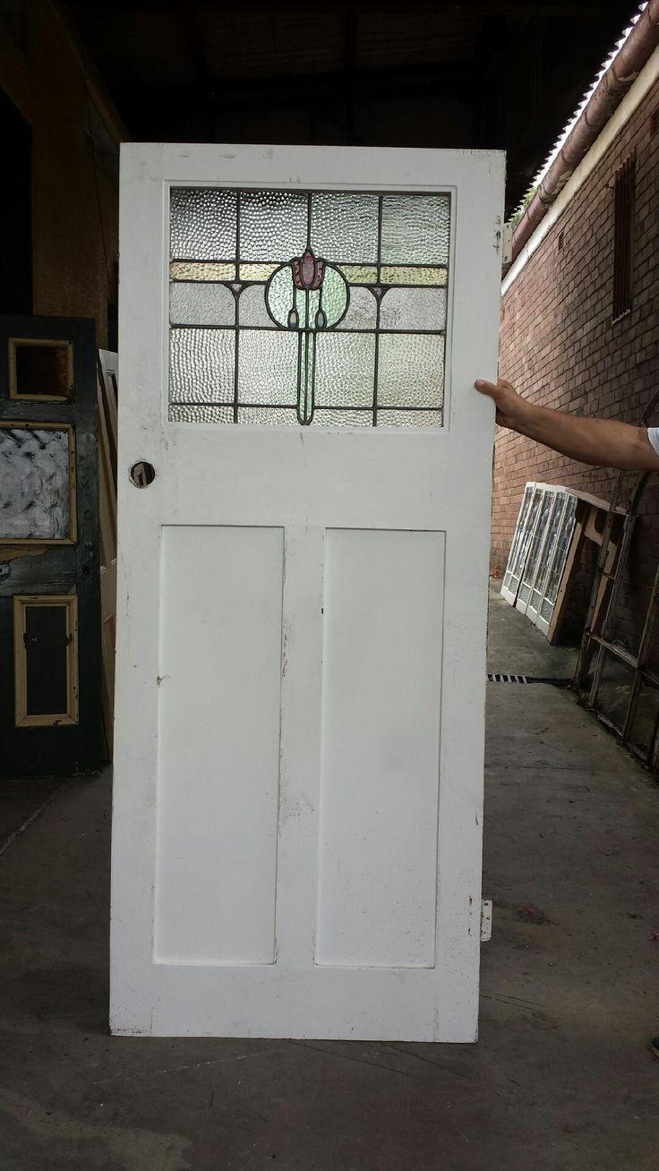Leadlight Doors : Federation Leadlight Front Door