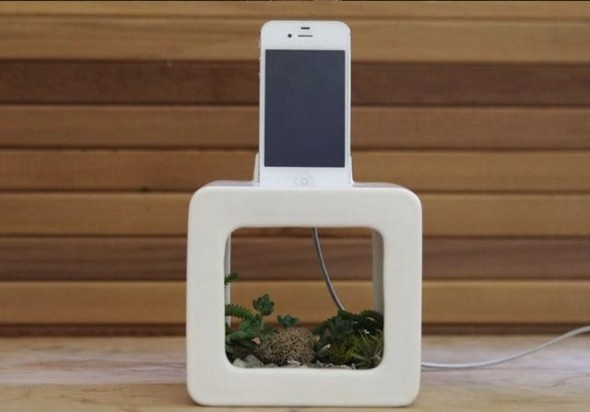 Bloombox: Natural iOS speaker dock that lets you grow plants in it | TechDigg.info