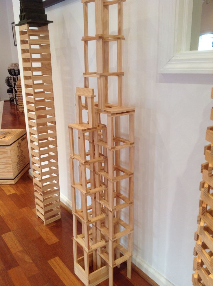 Challenge yourself to build this tower with only 200 KAPLA blocks. #kids #parents #school #homeschool #blocks #toys